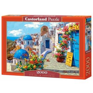 """Castorland """"Spring in Santorini"""" Puzzle 2000pcs"""