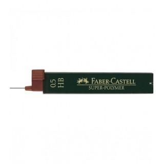 ΜΥΤΕΣ ΓΙΑ ΜΗΧΑΝΙΚΟ ΜΟΛΥΒΙ FABER CASTELL 0.5mm 120500