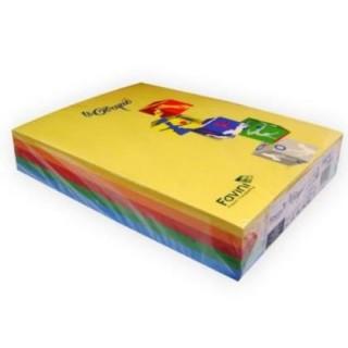 Χαρτονάκι Α4 Favini 160gr 250φ μιξ έντονα χρώματα