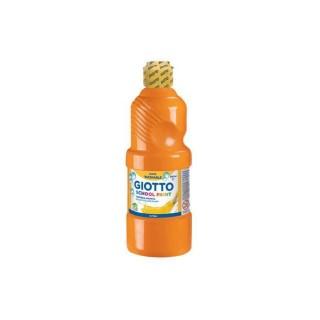 Giotto Τέμπερα Δοχείο School Paint Πορτοκαλί 500 ml ΔΙΑΦΟΡΑ ΧΡΩΜΑΤΑ