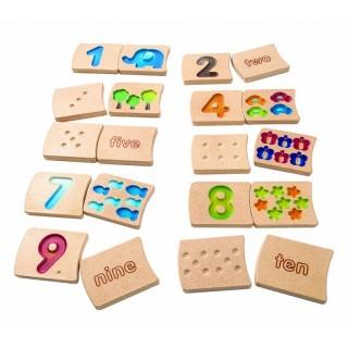 Plan toys Αριθμοί 1-10