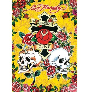 Ravensburger Puzzle Ed Hardy: In Memory Of Love 1000pcs 191727