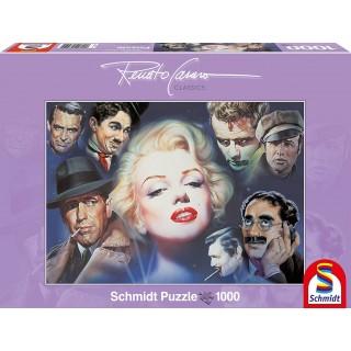Schmidt Puzzle Marilyn Monroe and Friends 1000 Pieces