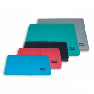 Skag Ντοσιέ Φυσαρμόνικα A4 με 13 θήκες Κλασικά Χρώματα