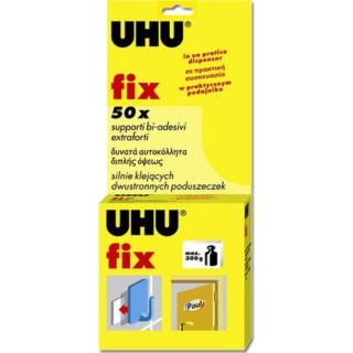 Αυτοκόλλητα διπλής όψης UHU Fix