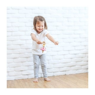 Plan Toys  Ξύλινη Σβούρα Μπαλαρίνα 5194