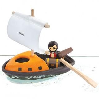 Plan toys Βάρκα με πειρατή