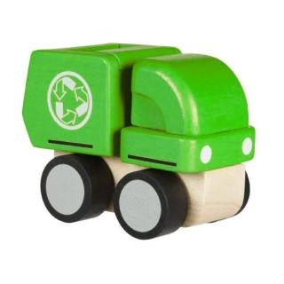 Plan Toys Απορριμματοφόρο mini  6319