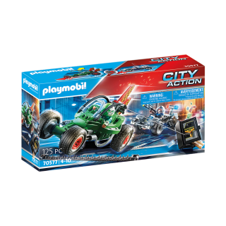 Playmobil Αστυνομική καταδίωξη Go-Kart 70577