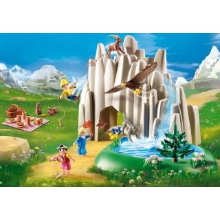 Playmobil  Η Χάιντι, ο Πέτερ και η Κλάρα στην Κρυστάλλινη Λίμνη 70254