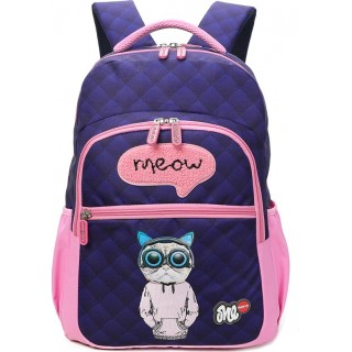 Lyc Sac Cat Meow Σχολική Τσάντα Πλάτης